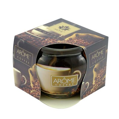 Arome Vonná svíčka ve skle Coffee, 85 g