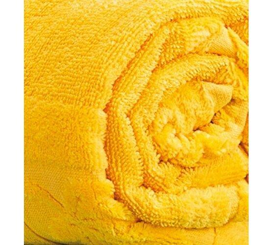 Osuška Nina žlutá, 70 x 140 cm