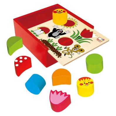 Bino Krabička s tvarmi Krtko