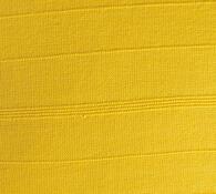 Návlek na polštář - Pruh, sada 2 ks, žlutá, 2 ks 40 x 40 cm
