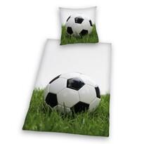 Lenjerie de pat, din bumbac, Football, 140 x 200 cm, 70 x 90 cm