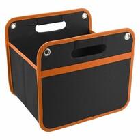 Orange ӧsszezárható tároló a csomagtartóba 32 x 29 cm