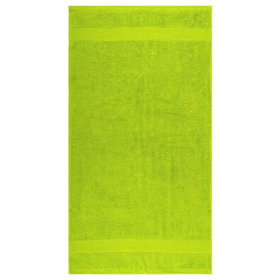 Ručník Olivia trávově zelená, 50 x 90 cm