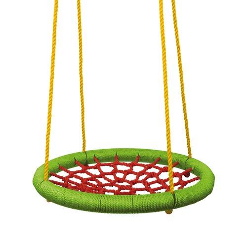 Woody Houpací kruh pr. 83cm, zeleno-červená