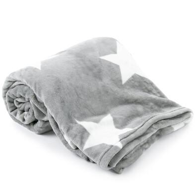 Light Sleep New Stars takaró, szürke, 150 x 200 cm