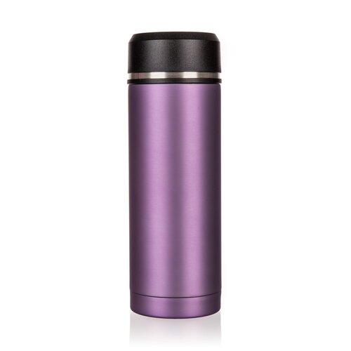 Banquet TRACE utazó termosz palack, 330 ml, lila