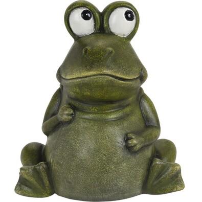 Broască din porțelan Aileen, 17,5 cm