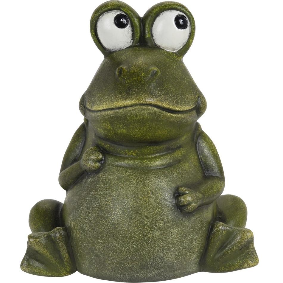 Porcelánová žába Aileen, 17,5 cm