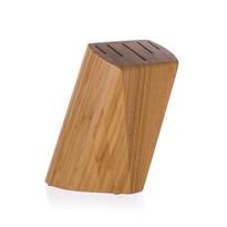 Suport din lemn Banquet Brillante, pentru 5 cuțite, 22 x 13,5 x 7 cm