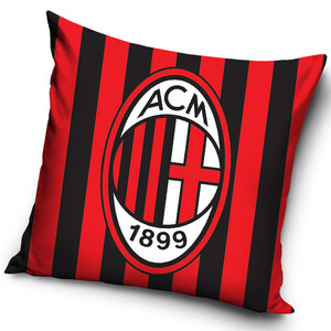 Polštářek AC Milán Stripes, 40 x 40 cm