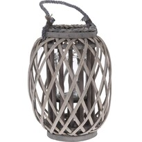 Prútený lampáš Noia, 30 cm