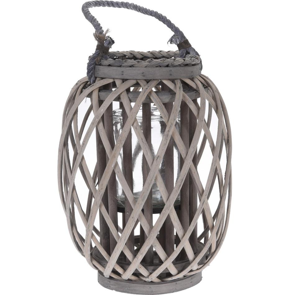 Proutěná lucerna Noia, 30 cm