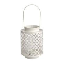 Altom Kovová lucerna na čajovou svíčku Naya, 13 x 18,5 cm