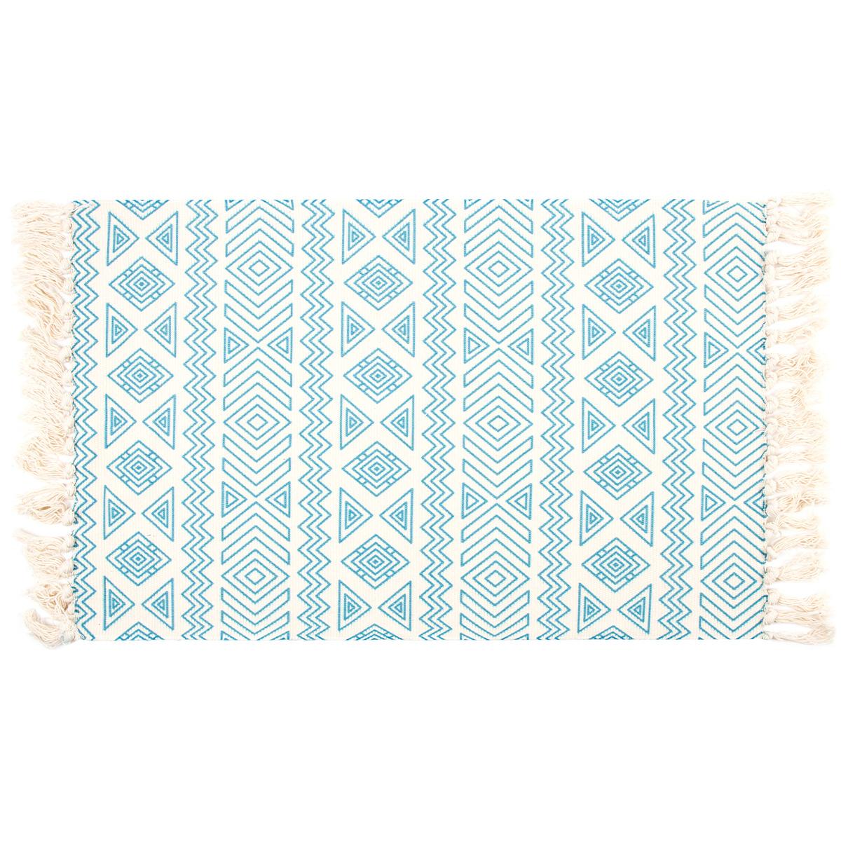 Dakls Kobercový běhoun Etno modrá, 90 x 60 cm