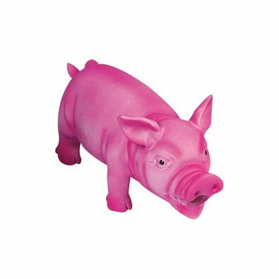Karlie Latexová hračka Prase růžová, 22 cm