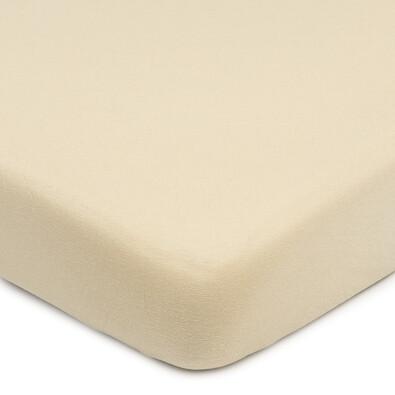 4Home Jersey prestieradlo s elastanom béžová, 160 x 200 cm