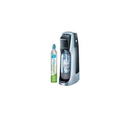 SodaStream JET TITAN/SILVER domácí výrobník sody, černá