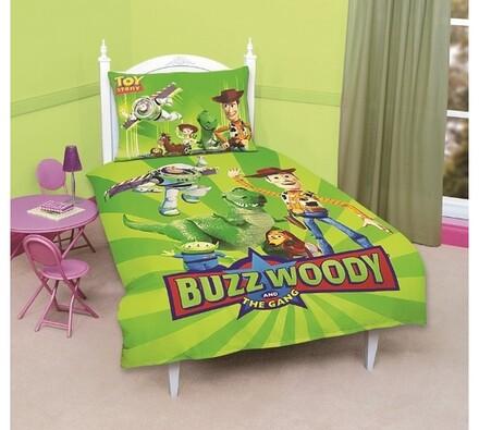 Dětské bavlněné povlečení Toy story, 70x90 cm, 140