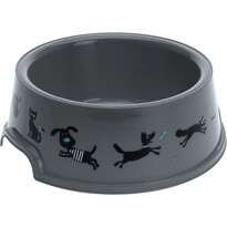 Vas Cane, pentru animale de companie, gri, diam. 16,5 cm