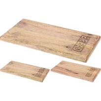 Koopman Dřevěné krájecí prkénko Cheese, 20 x 39,5 x 2,2 cm