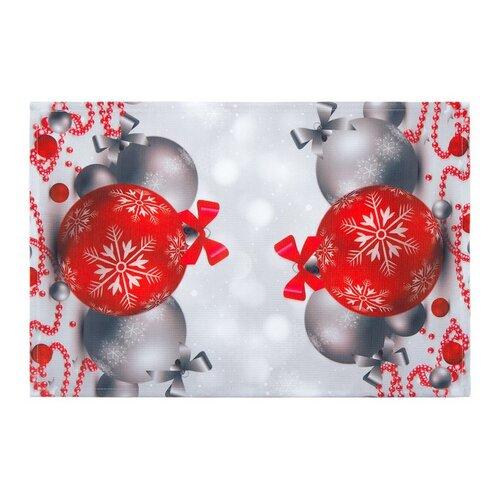 Forbyt Vánoční ubrus Vánoční ozdoby, 30 x 45 cm, 30 x 45 cm