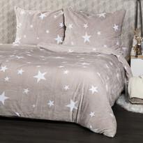 4Home obliečky mikroflanel Stars Grey