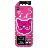 Osvěžovač Aroma Car Cat, pink blossom