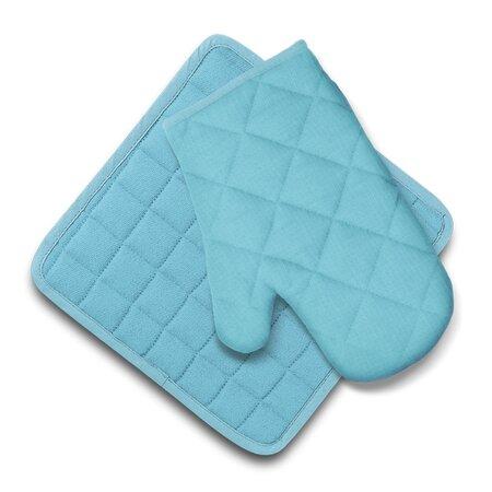 Domarex Ollie konyhai szett, edényfogó és alátét, kék