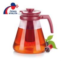 Tescoma TEO TONE teáskanna, áztató szűrővel 1,7,  piros,
