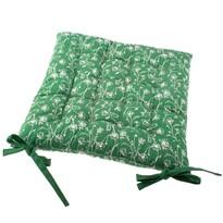 Siedzisko na krzesło Zora zielony, 40 x 40 cm