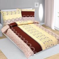 Lenjerie de pat din flanelă Kola, bej