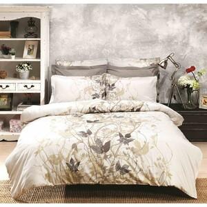 Halley home Bavlněné povlečení Giselle béžová, 140 x 220 cm, 70 x 90 cm, 140 x 220 cm, 70 x 90 cm