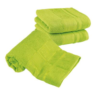 4Home Sada Bamboo zelená osuška a ručníky, 70 x 140 cm, 2 ks 50 x 100 cm