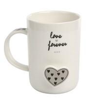 Cană Altom Forever Love, din porțelan, 360 ml