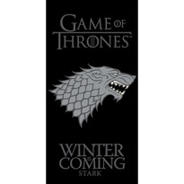 Törülköző Trónak harca Winter is Coming, 70 x 140 cm