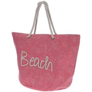 Plážová taška Beach, růžová