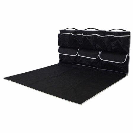 Compass Ochranná deka do kufru s kapsami, černá