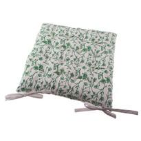 Siedzisko na krzesło Zora biały, 40 x 40 cm