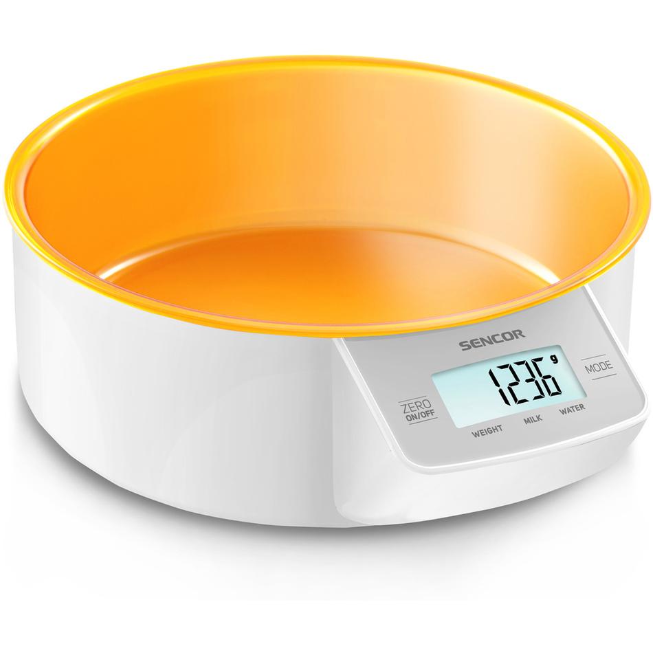 Sencor SKS 4004OR kuchyňská váha, oranžová