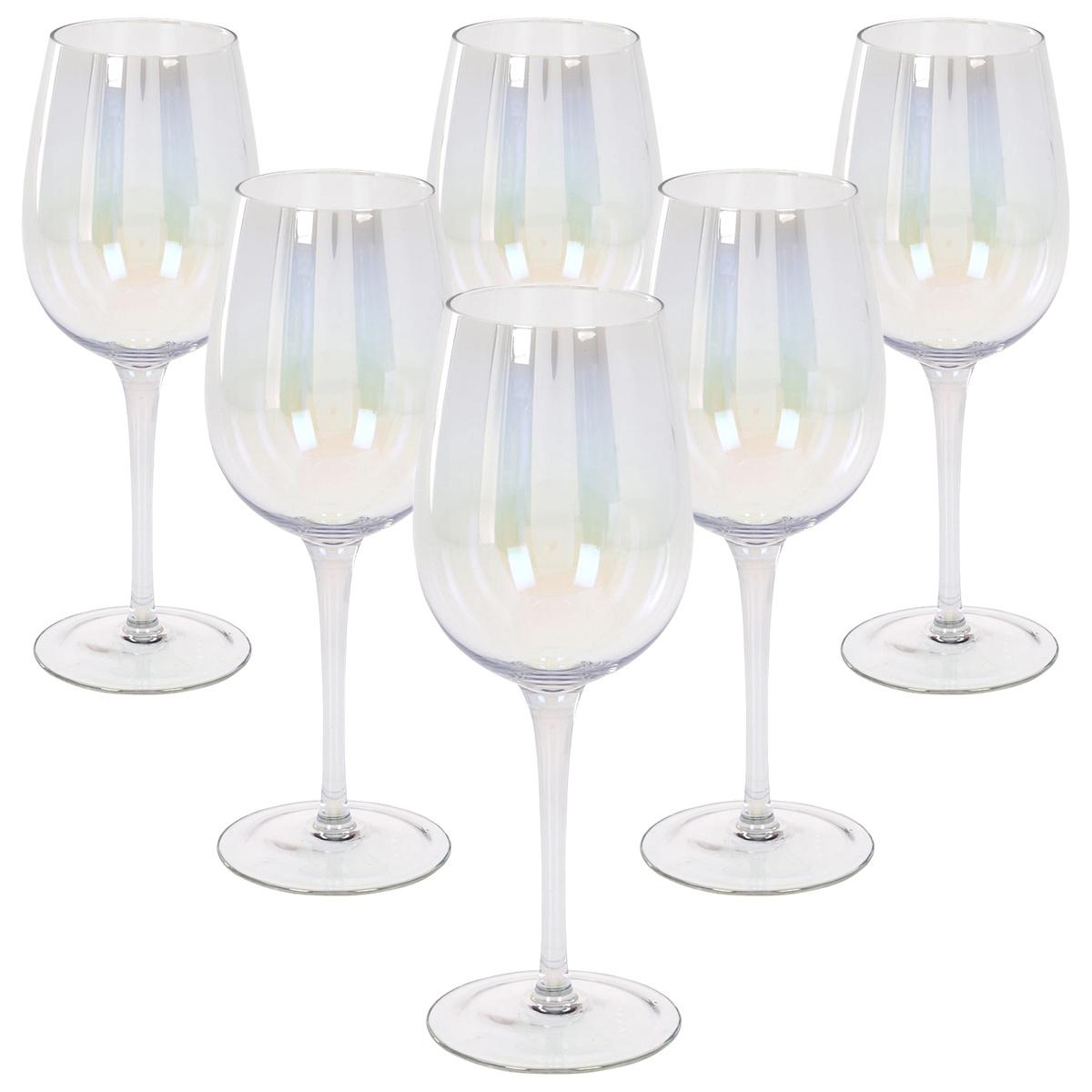 Koopman 6dílná Sada sklenic na víno, 450 ml