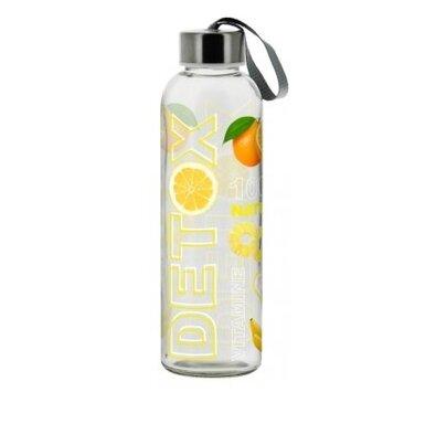 Mäser Sklenená fľaša Detox Lemon, 0,5 l
