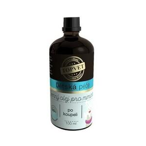 Topvet dětská péče Jemný olej po koupeli 100 ml