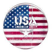 Plechová dóza USA
