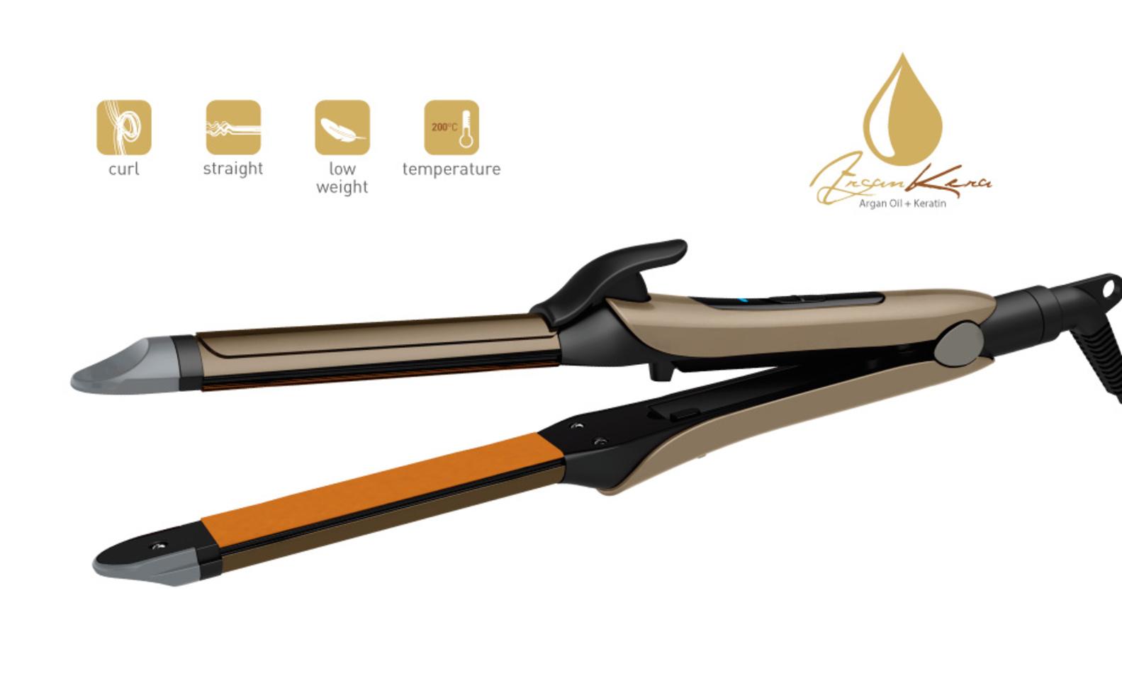 Concept VZ1430 multifunkčná žehlička, kulma