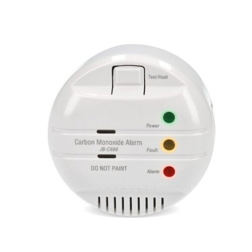 Solight Detektor spalín CO + alarm, biela
