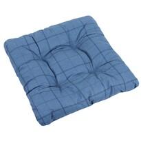 Sedák Adéla Kostka modrá, 40 x 40 cm