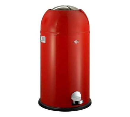 Odpadkový koš Wesco Kickmaster, červený, 33 l, červená