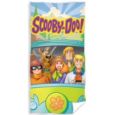 Scooby Doo Úton törölköző, 70 x 140 cm