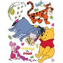 Decoraţiune adezivă Ursuleţul Pooh, 30 x 30 cm