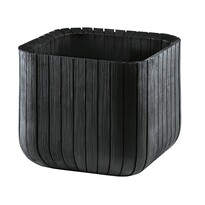 Keter Doniczka Cube planter brązowa, 30 x 30 cm